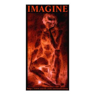 IMAGINE Custom Photo Art Photo Card