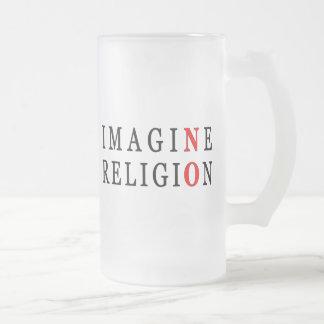 Imagine No Religion Coffee Mug
