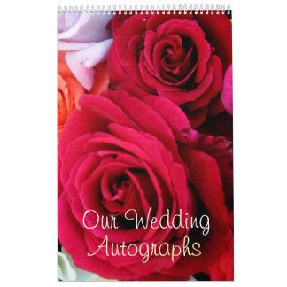 imagine Roses Wedding Calendar