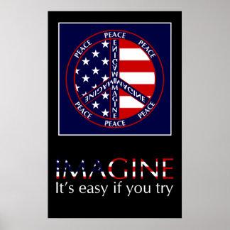 Imagine USA Poster