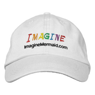ImagineMermaid.com Imagine Promotional Embroidered Hat