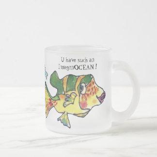 ImaginOCEAN Cartoon Fish Mugs