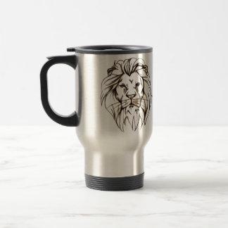 IMG_7779.PNG brave lion design Travel Mug
