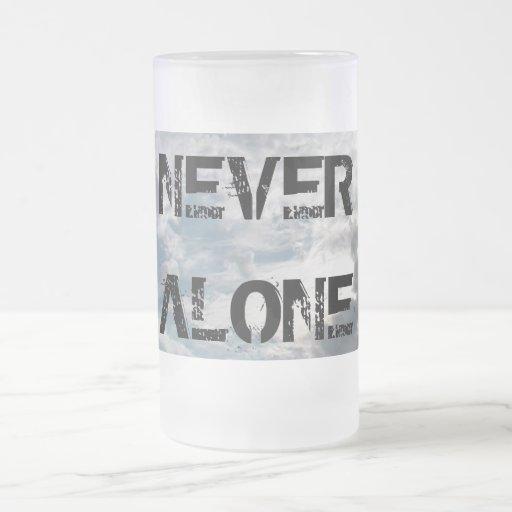 IMGA8997, NEVER ALONE COFFEE MUG