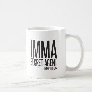 Imma Secret Agent Basic White Mug