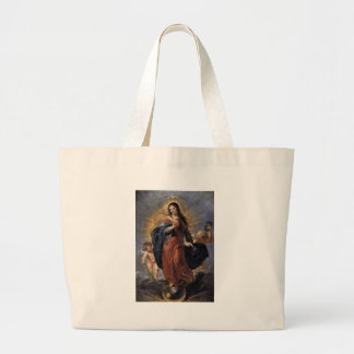Immaculate Conception - Peter Paul Rubens Large Tote Bag