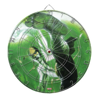 Immortal Iron Fist Kick Dartboard