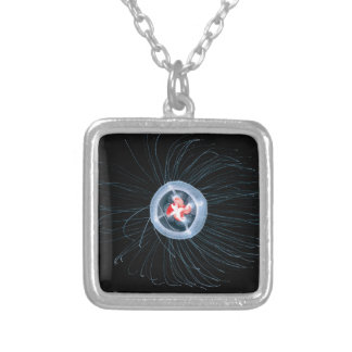 Immortal Jellyfish Square Necklace