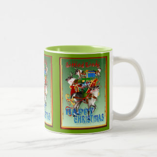 IMPATIENT-Getting Ready For The BIG Day Two-Tone Coffee Mug