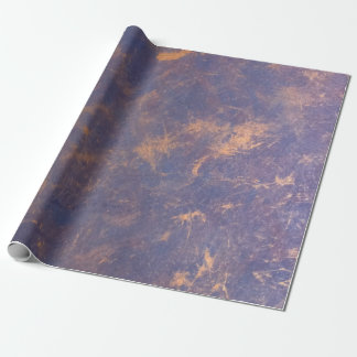 Impatient Party | Chic Lilac Purple Gold Splatter Wrapping Paper