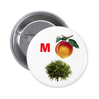 Impeach Bush 6 Cm Round Badge