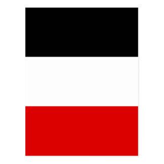 Imperial German Flag - Deutsches Kaiserreich Postcard