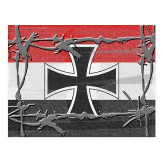 Imperial German Flag Postcard