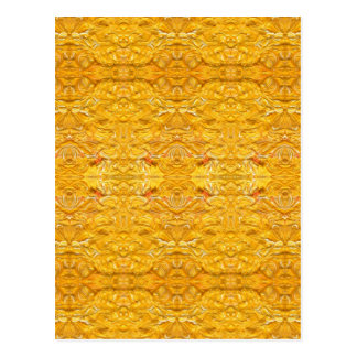 Imperial Golden-Yellow Pattern.jpg Postcard