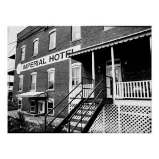 Imperial Hotel-Monterey Tennessee Poster