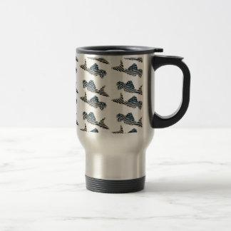 Imperial Zebra Pleco Stainless Steel Travel Mug
