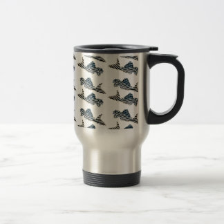 Imperial Zebra Pleco Travel Mug