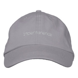 impermanence baseball cap