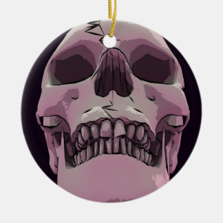 Imposing Skull Ornament