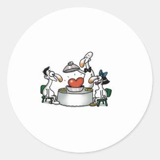 Impossible Love - Love Tasting Classic Round Sticker