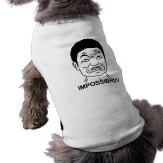 Impossibru!! Comic Face Shirt