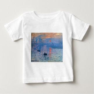 Impression, sunrise by Claude Monet Baby T-Shirt