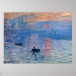 Impression Sunrise Poster