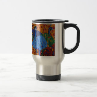 Impressionist Emus Mug