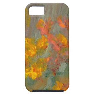 Impressionist Flowers Golds and Oranges iPhone 5 Covers