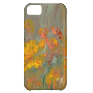 Impressionist Flowers Golds and Oranges iPhone 5C Cover