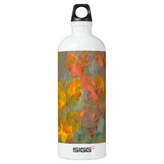 Impressionist Flowers Golds and Oranges SIGG Traveller 1.0L Water Bottle