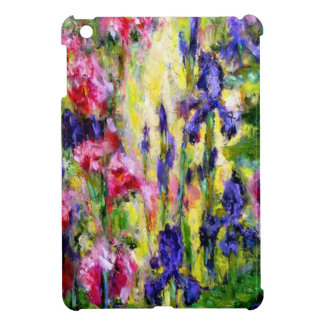Impressionist Iris Garden Gifts by Sharles iPad Mini Covers