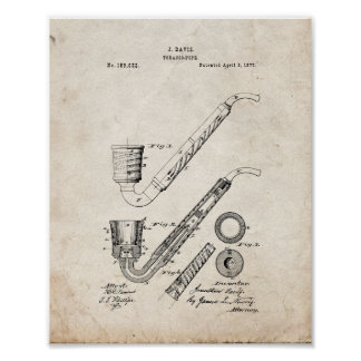 Improvement In Tobacco-pipes Patent - Old Look Print