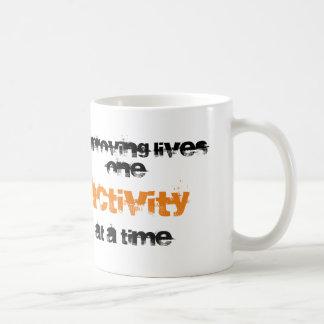 """Improving lives...."" Mug"
