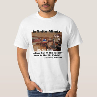 """iMz """"iMz Game Room"""" ad T-Shirt"""