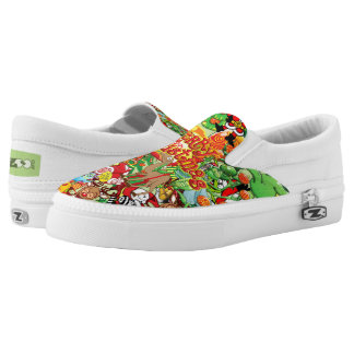 In Christmas melt into the crowd and enjoy it Slip-On Shoes