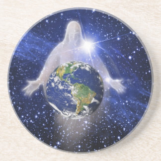 In God We Trust Our World Coaster