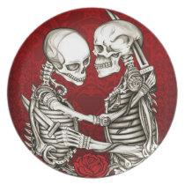 In Love and Hate, Skeletal Killer Lovers Plate