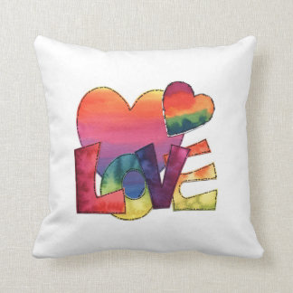"""In """"Love"""" Throw Pillow"""
