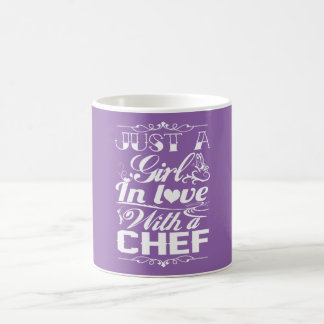 In love with a Chef Coffee Mug