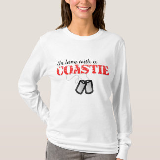 In love with a Coastie T-Shirt