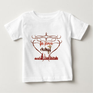In Love with Dubai Baby T-Shirt
