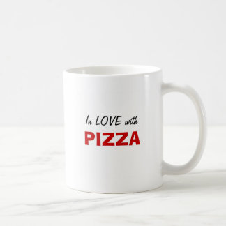 In Love with Pizza Coffee Mug