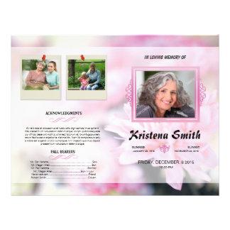 In Loving Memory-Funeral Program Flyer