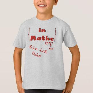 In math I am Deko of children T-shirt quantity M