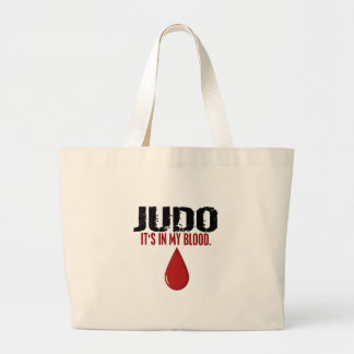 In My Blood JUDO Large Tote Bag