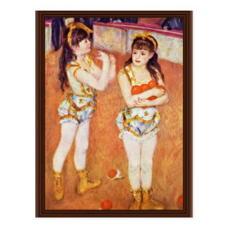 In The Circus Fernando By Pierre-Auguste Renoir Postcard