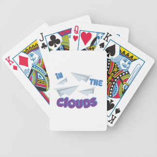 In The Clouds Bicycle Playing Cards