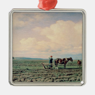 In the Field, 1872 Christmas Ornament