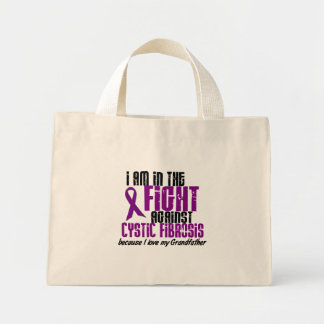 In The Fight Against Cystic Fibrosis GRANDFATHER Mini Tote Bag
